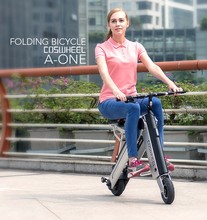 Max speed 35km/h Coswheel smart mini protable folding electric bicycle