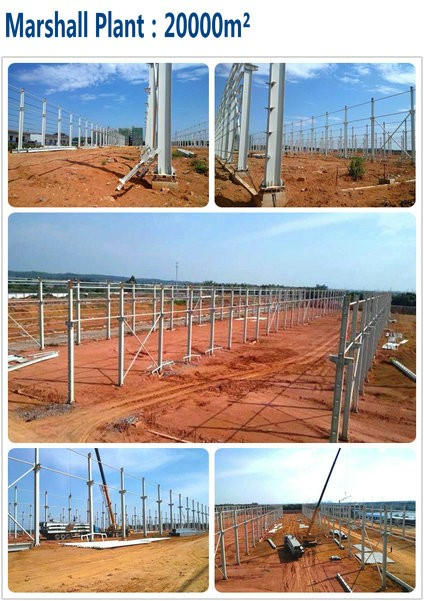 Large Span Professional Design Prefabricated Steel Structure Hangar Building