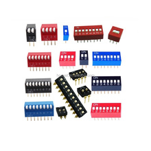 Red 1~12 Position Dip Switch