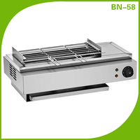China new type commercial smokeless gas grill EB-58 (CE Certificates)