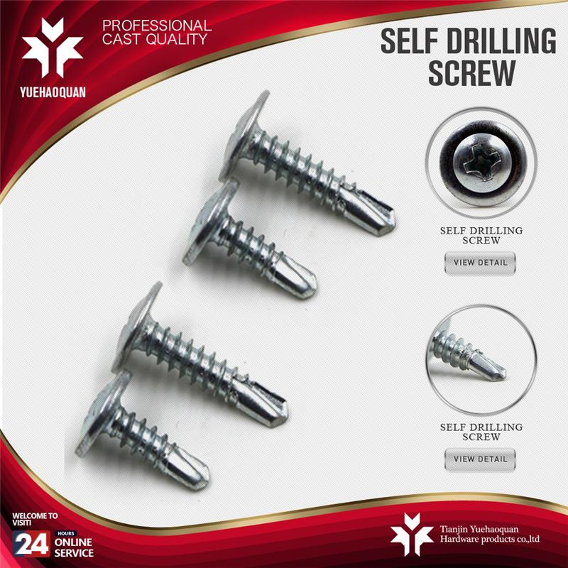 Hot selling wood to metal self drill screw made in China