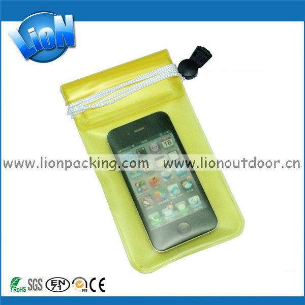 Low price Cheapest pvc waterproof bag mobile phone