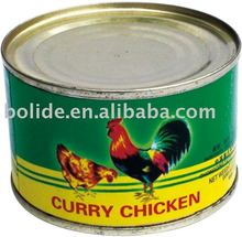 Curry chicken product
