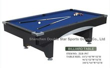 International & High quality cheap pool table