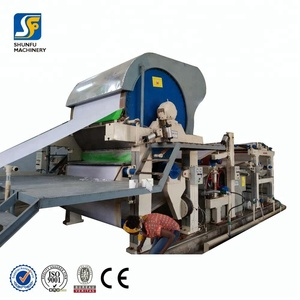 Small waste toilet paper recycling production line for sale