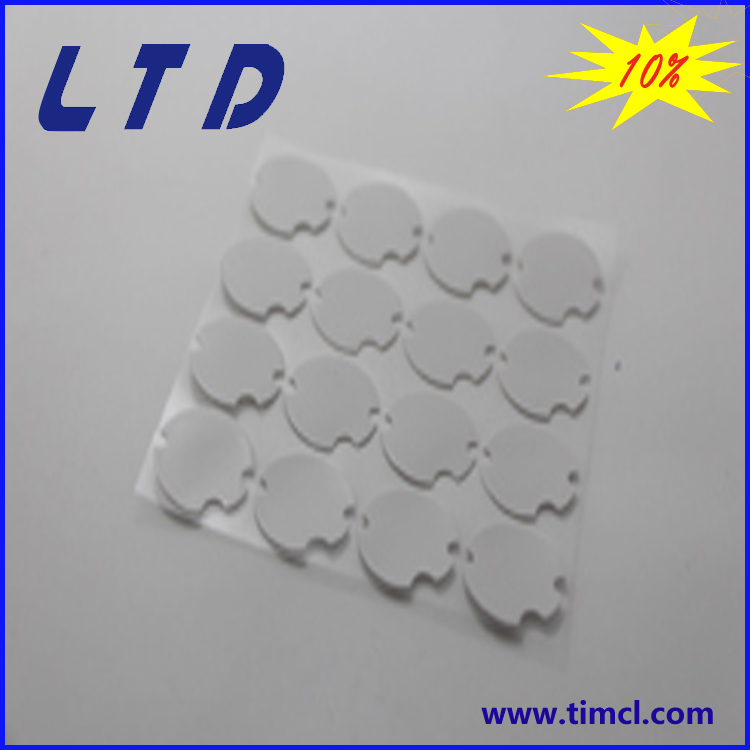 diameter 22mm thickness <strong>0</strong>.5mm silicone thermal pad with 1.2w/m-k