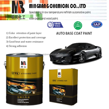 Auomotive refinish 2k acrylic car paint coating solid color