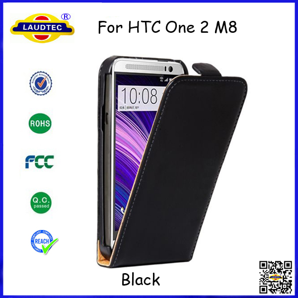 New Model for HTC M8 Slim Leather Flip Cover Book Style Magnetic Case