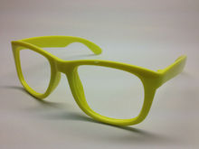cheap yellow frame sunglasses