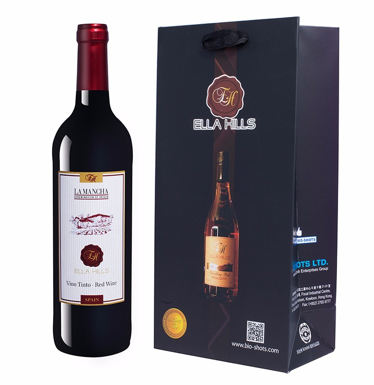 Spanish Ella Hills Vino Tinto semi-sweet Red Wine for party