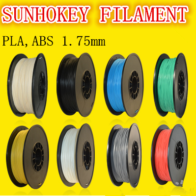 High quality 1.75mm 3mm pla <strong>abs</strong> plastic filament for FDM3D printer