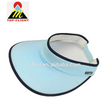 2015 fashion top quality outdoor sun visor cap hat , UV protection custom factory price sun visor cap