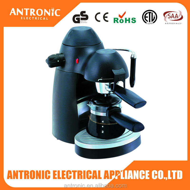 High quality Antronic ATC-A502 4 bar electric espresso coffee maker italian coffee maker