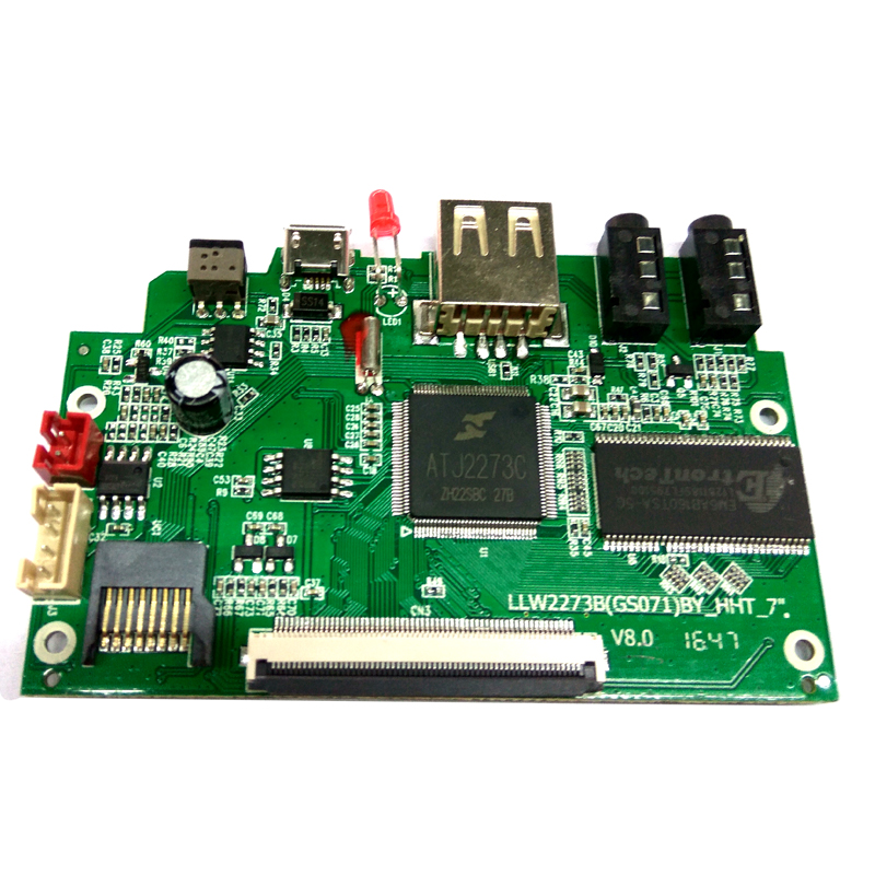 Electronic blank circuit assemble 94v0 board