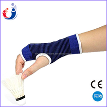 Elastic wrist support wrap