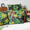 High quality printing pillow sofa Linen cotton cutomized cushion cover
