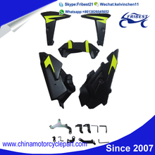 FYAMT055GR Motorcycle ABS Plastic Fairing Kit For FZ09 MT09 2014 2015 Green