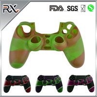 For PS4 Console Bluetooth Silicone Game Controller Wireless Controller