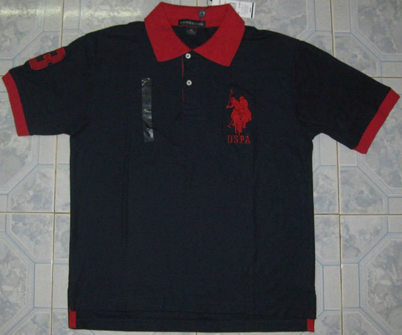 Uspa Polo Shirt - Buy T-shirt Product on Alibaba.com