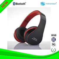 2015 new hot-selling model stereo waterproof bluetooth headset with keyboard