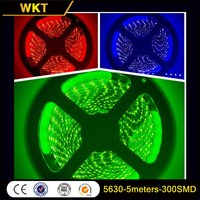 Factory quality 5630-300SMD cars rechargeable led strip light