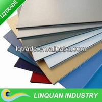 exterior wall aluminum plastic composite panel with various colors