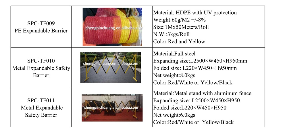 Metal Expandable Safety Barrier,retractable safety barriers