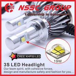 Super powerful motorcycle led headlight H3 led auto headlig for all cars H4 H3 H11 H10 etc