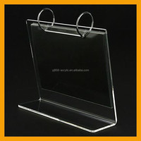 The Newest Style shenzhen factory acrylic plastic desk calendar holder