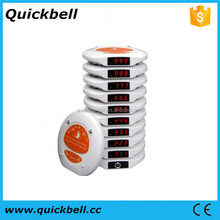 Manufacturer of Alpha numeric watch pager wireless restaurant tea house call waiter server Pager Service System