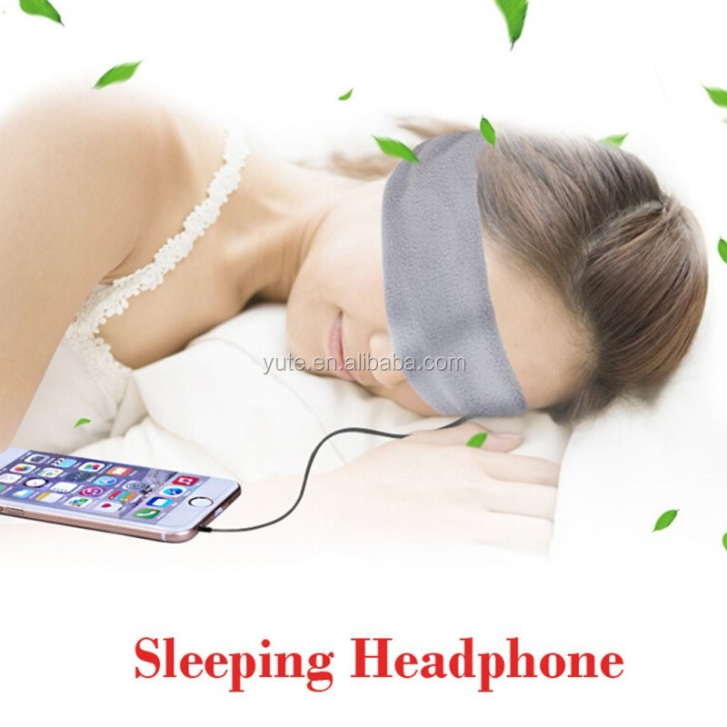 Washable Anti-noise <strong>Sports</strong> Running Sleeping Earphones Bundle Music Headband Sleep Mobile phone Headphones for Iphone Samsung