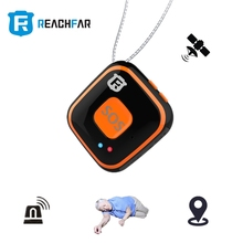 New designed SOS panic button Mini personal gps tracker fall alarm anti lost alarm for elderly and kids