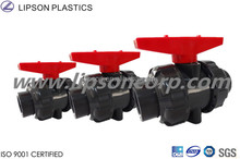 UPVC True Union Ball Valves Double Union Valves Plastic Valves