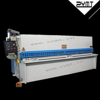 China 2015 hydraulic sheet metal cutting machine with CE and ISO 9001 certification/discount cnc price machine