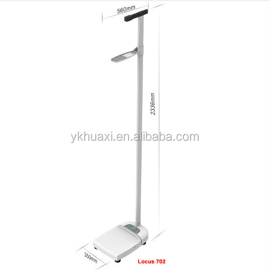SECA Wireless measuring station for height and <strong>weight</strong> Locus702