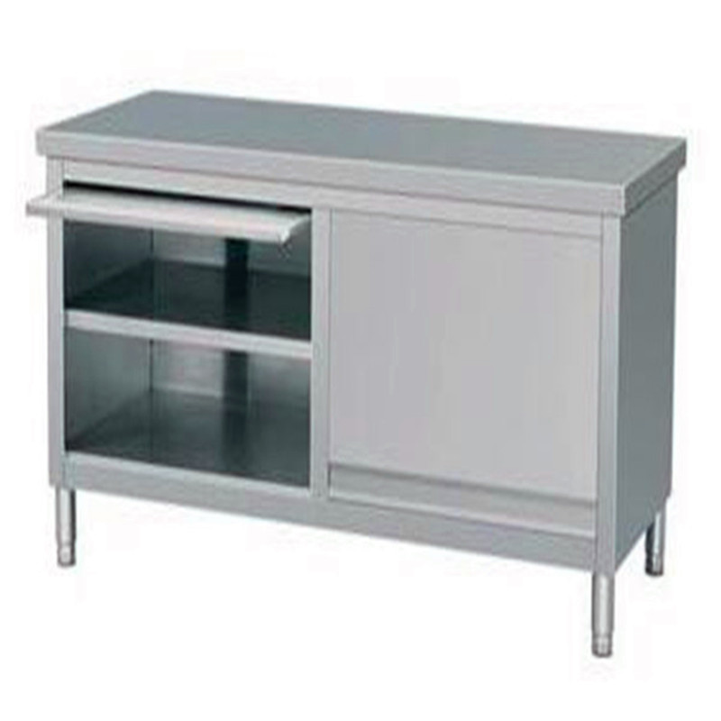 High quality kitchen metal cabinet industrial stainless for Stainless steel kitchen cabinet price