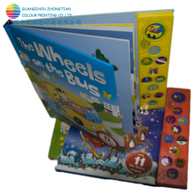 Children hardcover book sewing book sound book printing