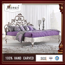 Custom Luxury Double Bed Design Furniture, Princess Bed Luxury