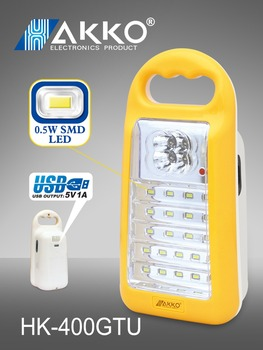 portable automatical rechargeable 40pcs LED Emergency Light