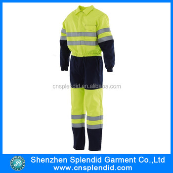High Quality Work Mens Nylon Waterproof Winter Coveralls