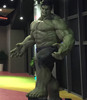 Customized realistic resin statue Hulk action figure