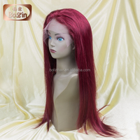 Wigs Buy from China Density 130% Human Hair Blonde Lace Front Wigs