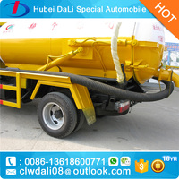Hot sale vacuum road sweeper truck