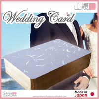 Highest quality wedding announcements cards of hope two people of happiness