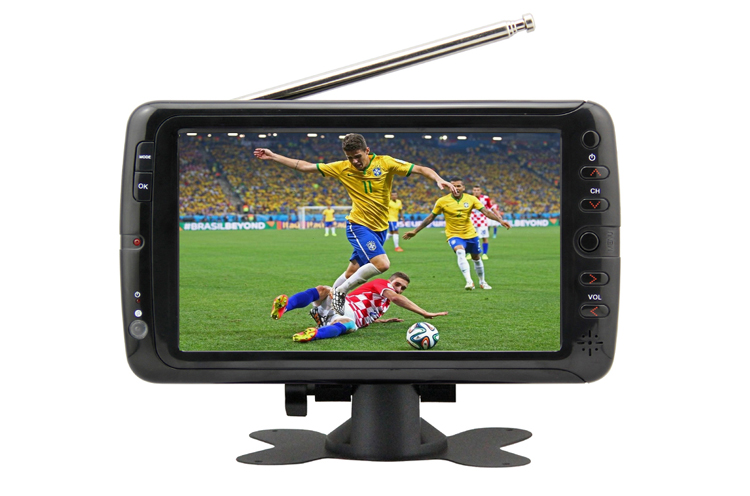 VITEK 7 9 10.1 inch Cheap Bulk OEM Outdoor DVB-T ATSC ISDB-T Pocket Digital TV,Portable Mini Cep TV