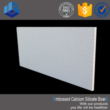 Anti-sinking Calcium Silicate As Embossed Ceiling Tiles
