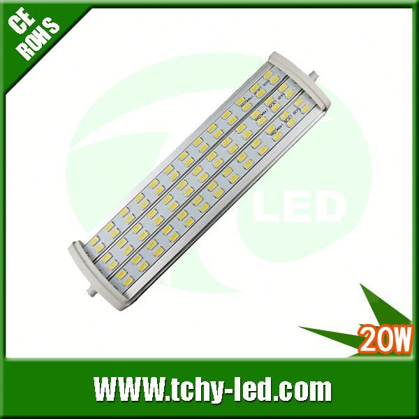 Main product 20w samsung 5630 r7s led h4 halogen lamp for Showroom/France