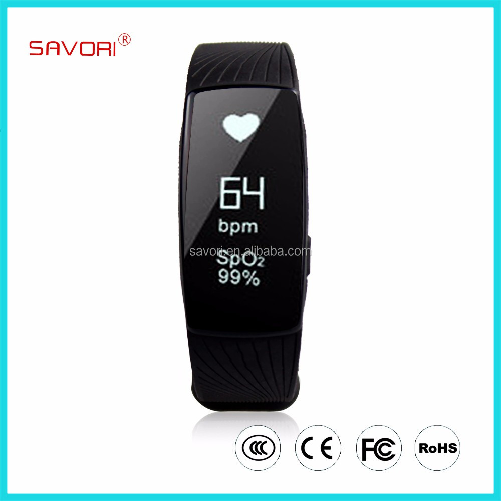 Heart rate monitor wrist pedometer watch wristband, phone call reminder smart bracelet, bluetooth smart bracelet