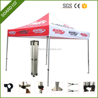Custom Printed Folding Canopy Tent / Trade Show Pop Up Gazebo Tent / Vendor Advertising Tent