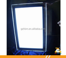 High brightness advertising led light box acrylic photo picture frame